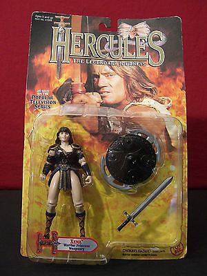 Hercules 1995 Xena Warrior Princess Weaponry Action Figure Sealed w/ Dmg
