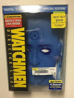 Watchmen (Blu-ray Disc, 2009, 2-Disc, Special Edition MASK Best Buy