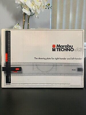 Marabu TECHNO-A3 Drawing Board Drawing Plate For Right Hander And Left Hander
