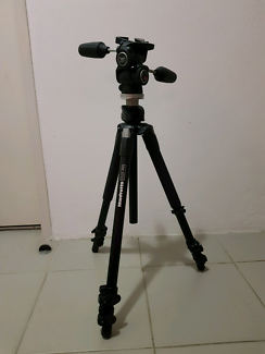 Manfrotto 190XPROB Tripod Legs incl 804RC2 3-Way Pan/Tilt Head