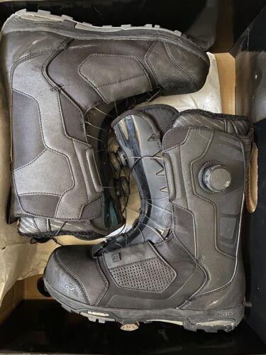 insano snowboard boots black noir size 12