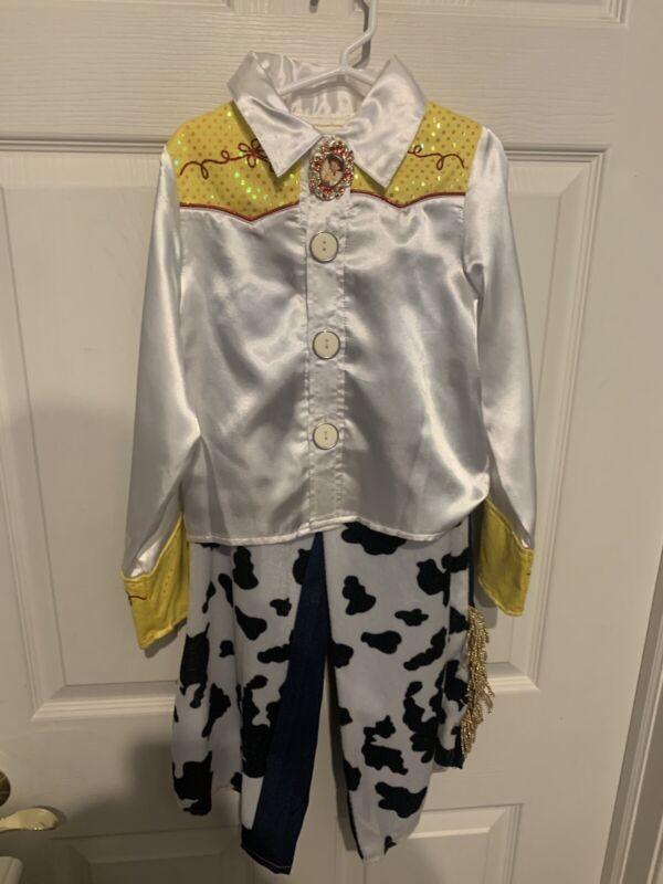 Disney Store Pixar Toy Story Jessie Costume Child Sz 5/6 Repair No Hat Or Boots