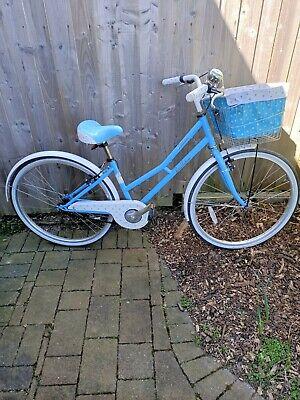 Pendleton Littleton Girls Bike With Basket blue