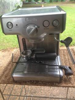 Breville coffee machines x 2  (one for parts) $60 for both