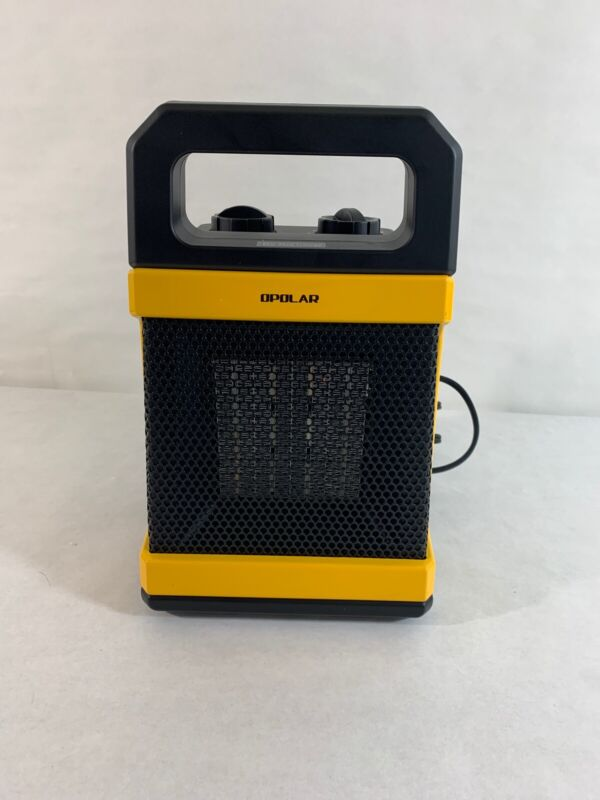 Opolar 1500w Ceramic Space Heater.adjustable Thermostat.electric Heater He03