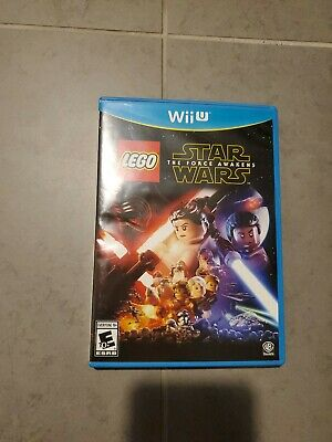 LEGO Star Wars: The Force Awakens (Nintendo Wii U, 2016) perfect condition