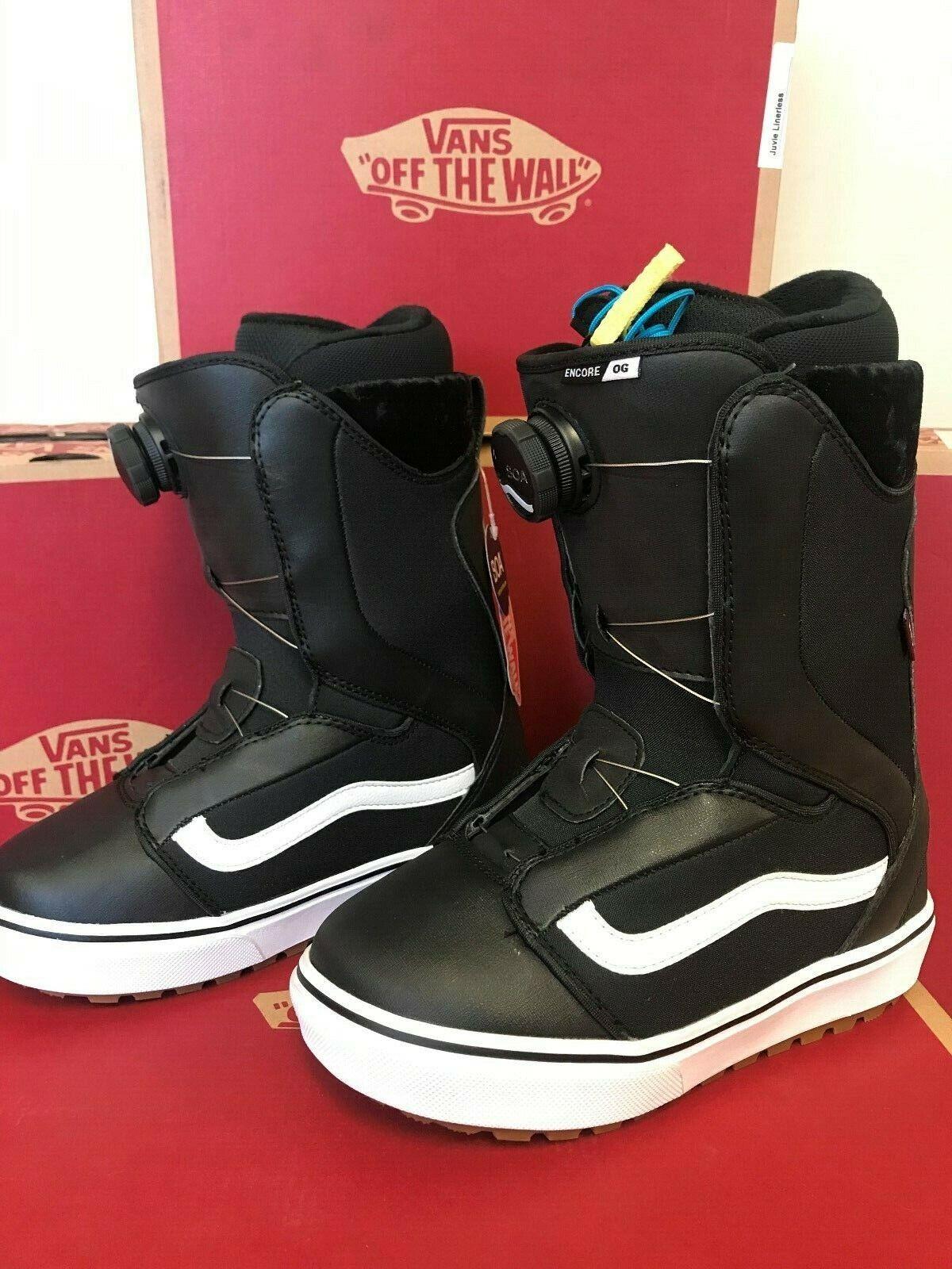 Vans ENCORE OG Women's Snowboarding Boots, Size 8.5, NEW
