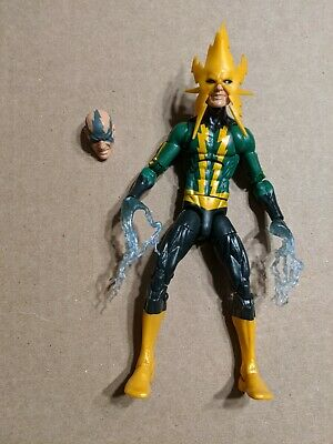 Marvel Legends Electro Figure Space Venom BAF Wave Hasbro 2016 Spider-Man loose