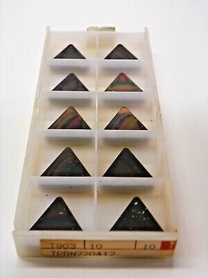 10 Pieces Tungaloy Tpgn 22 04 12 433 T803 Carbide Inserts  F138