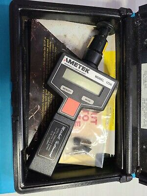 Ametek 1726 Digital Tachometer W Case Accessories
