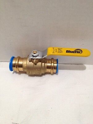 Bluefin 1 Propress Ball Valve W Stainless Trim Lead Free-250cwp