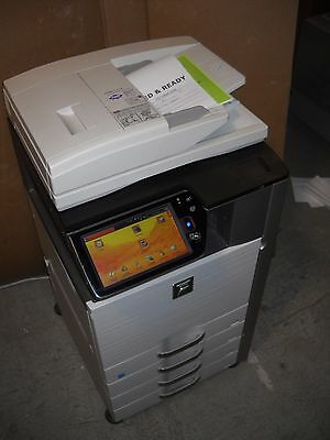 Sharp Mx-3110n Commercial Color Office Copier Network Printer Scanner