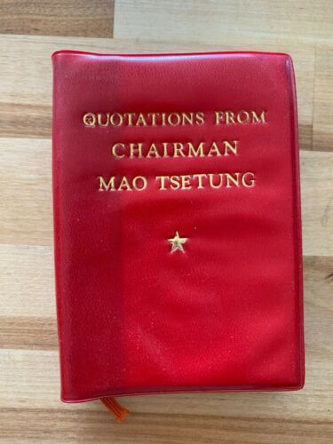 """""""Quotations of Chairman Mao"""" Little Red Book of Communism"""