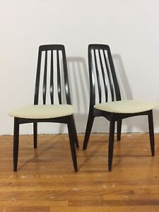 4 Danish Rosewood Dining Chairs $50 each