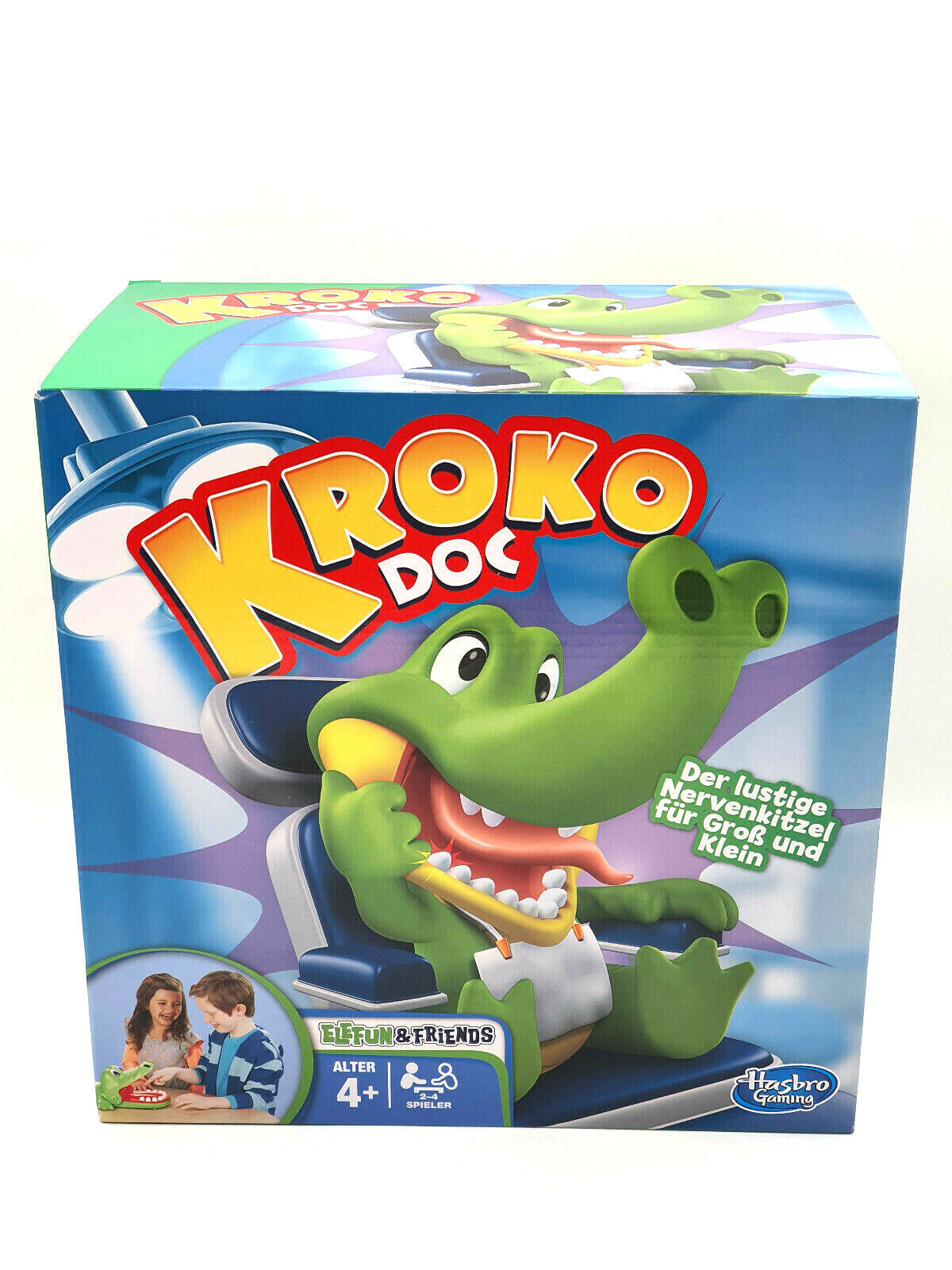 HASBRO Spiel - KROKO DOC Kinderspiel Lernspiel Gesellschaftsspiel