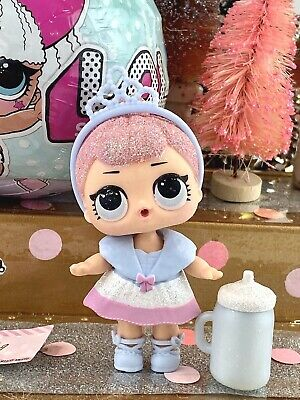 LOL Surprise doll CRYSTAL QUEEN  Series 1 Mostly Sealed Gold Ball VHTF RARE