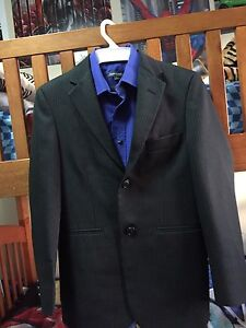 Elegant boy suit with a t-shirt size 10 like new worn once