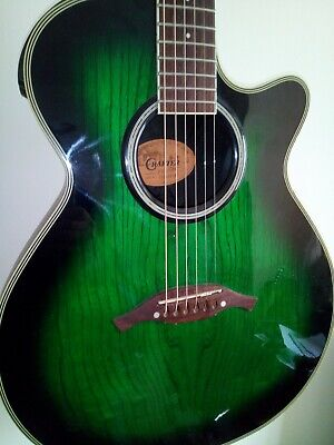 Crafter FX550eq Electro Acoustic Guitar in Green