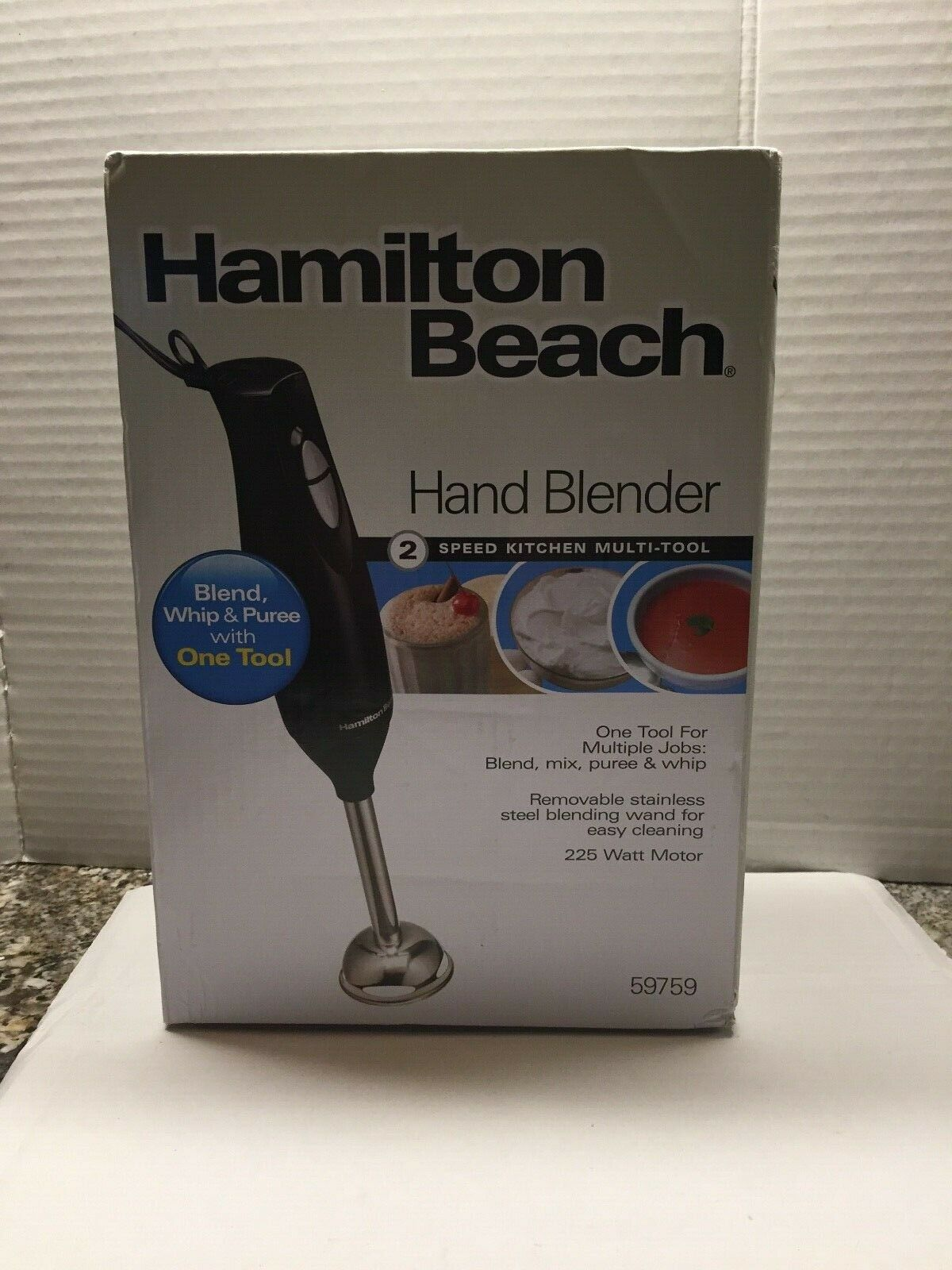 NEW Hamilton Beach 2-Speed Hand Blender Kitchen Multi-Tool #