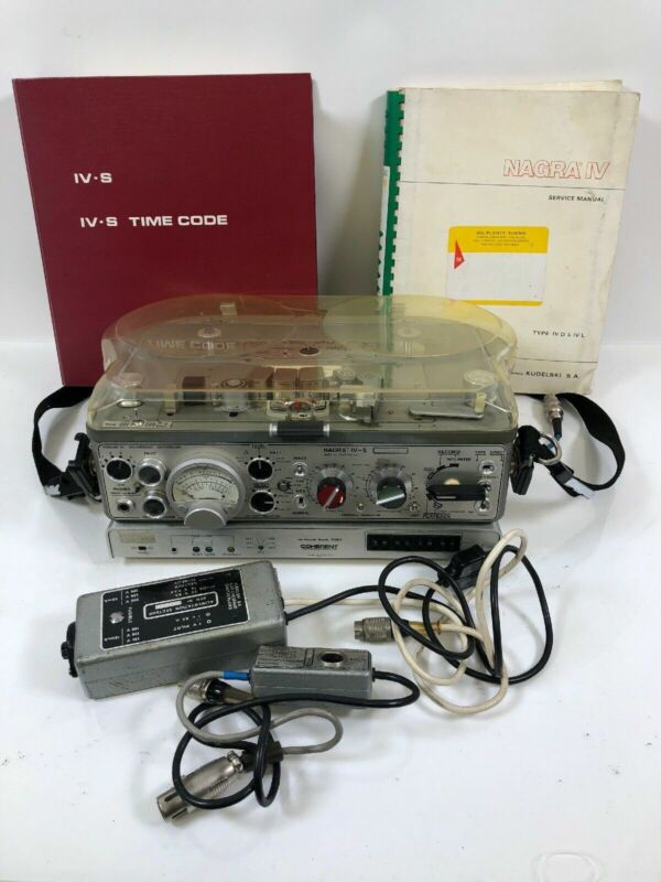 Nagra IV-S Reel to Reel Rare Time Code