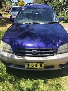 Subaru Outback 2000 auto wagon Awd Orchard Hills Penrith Area Preview