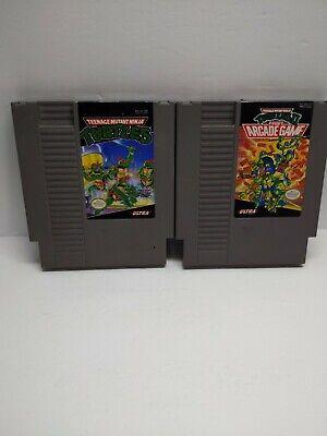 Teenage Mutant Ninja Turtles 2: The Arcade Game (NES, 1990) & TNMT PART 1 TESTED