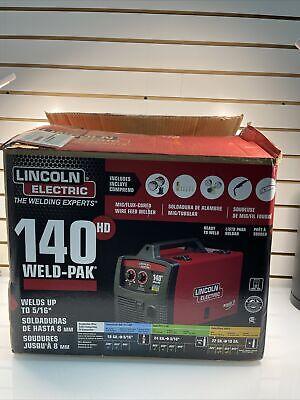 Lincoln K2480-1 Weld-pak 140 Hd Migflux Cored Wire Feed Welder - Brand New