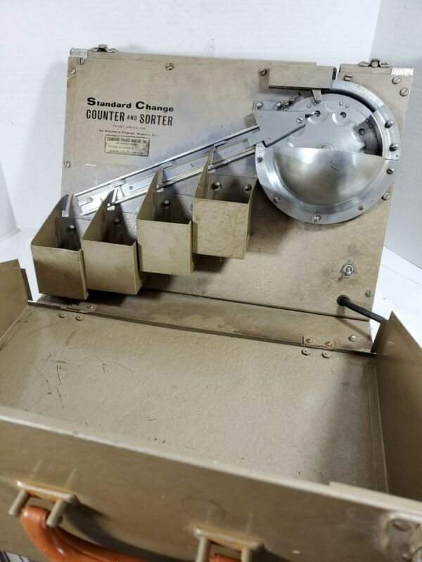 Vintage Standard Change Makers Model CS-100A Counter and Sorter