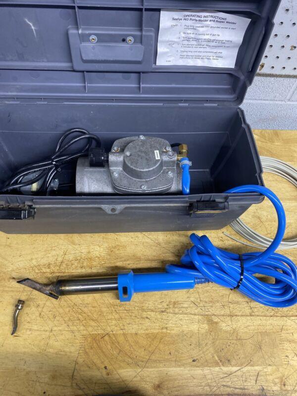 Seelye Model 63 Porta Kit Plastic Welder