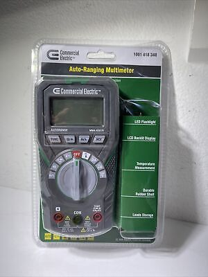 New Commercial Electric Auto Ranging Digital Mutlimeter Ms8301b Acdc Current