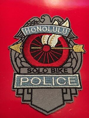 Honolulu Police Motorcycle Solo Unit patch