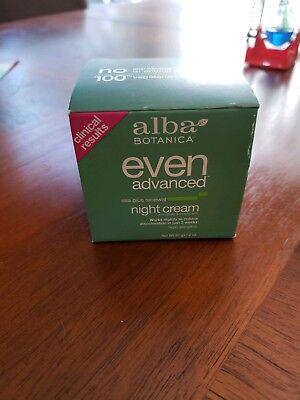 Alba Botanica sea plus renewal night cream, even advanced DMAE/alpha lipoic acid Alba Sea Plus Renewal Cream