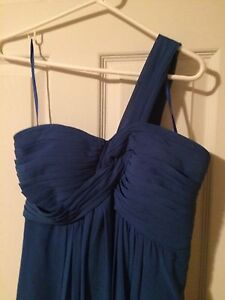 Royal Blue Full length Dress