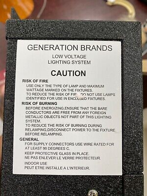 Generation Brands Low Voltage Lighting System New
