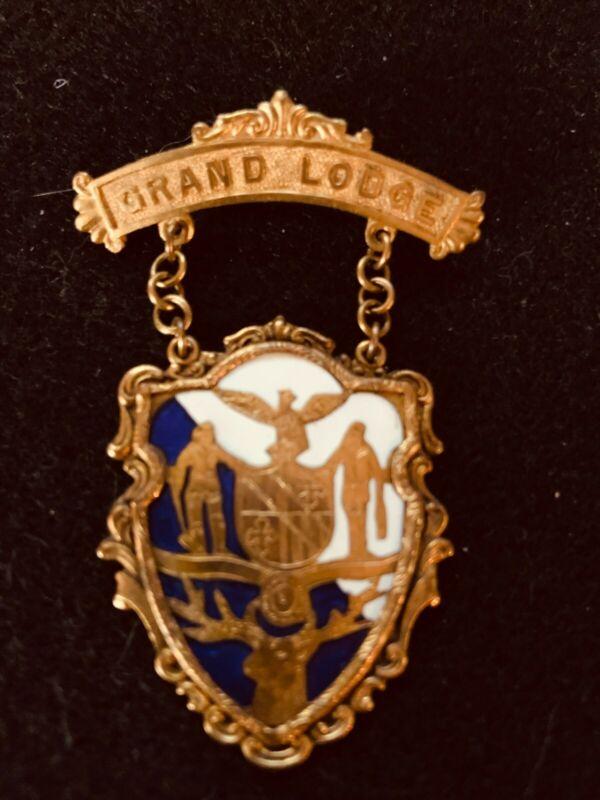bpoe elks memorabilia- 1903 Grand Lodge- Reunion-Baltimore-beautiful inlay work