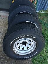 265/75r16 BFGoodrich tyres + wheels Beachmere Caboolture Area Preview