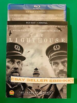 The Lighthouse Blu Ray + Digital HD & Slipcover New Sealed Free Shipping