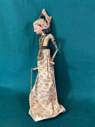 Wayang Golek, Indonesian Rod Puppet Marionette from Bali