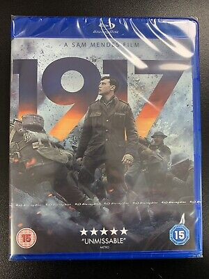 1917 ( A Sam Mendes Film) Blu Ray - Brand New & Sealed - Free Postage