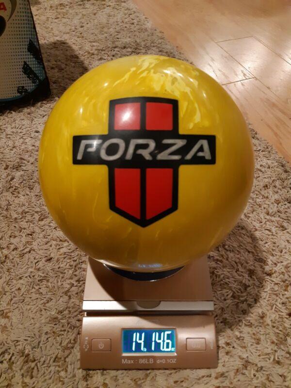 "Motiv Forza Redline 1st Quality Bowling Ball | Light 15 Pounds | 3-4"" Pin | NNB"