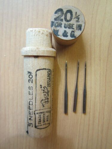 Boye Willcox & Gibbs Chain Stitch Sewing Machine Needles.
