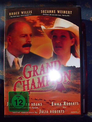 GRAND CHAMPION Bruce Willis, Emma Roberts, Julia Roberts Familienfilm FSK12 DVD! (Julia Roberts Filme)