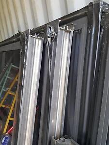 8 x new aluminium windows unused 100mm commercial frames Denman Muswellbrook Area Preview