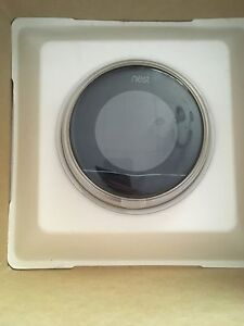 Nest thermostat never used