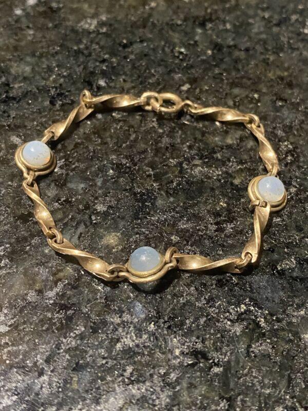 Tennis Bracelet 12K gold filled 1/20.  6.75 grams