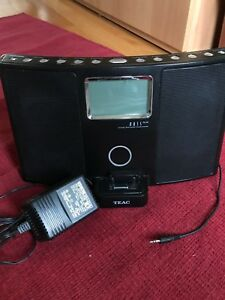 Selling TEAC iPod docking stereo