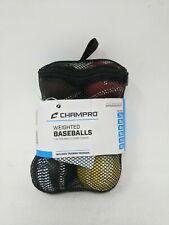 3 Ball Set Champro Sports Baseball Bat Softball Contact Hitting Trainer