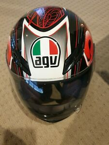 Agv helmet size XS used 3 times