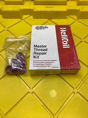 Helicoil 5401-12 Size 34-10 Nc Master Thread Repair Kit 6 Extra Coils New