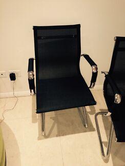 2 Matt Blatt Eames Office Chairs St Peters Marrickville Area Preview